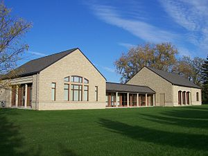 St. Bernard's School of Theology and Ministry - Current facility in Pittsford