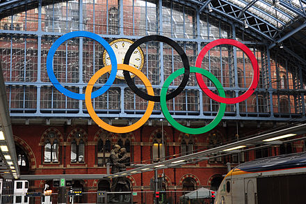 The Meeting Place and the Olympic Rings for the 2012 Summer Olympics StPOlympics.jpg