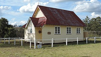 Maryvale, Queensland (Southern Downs Region) - St Alban's Anglican Church, 2015