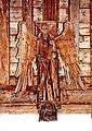 St Andrew, Isleham - Roof angel - geograph.org.uk - 1151232.jpg