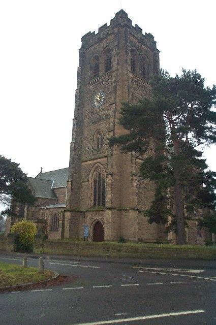 St Anne's Church, Worksop - geograph.org.uk - 106073