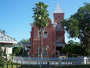 Old St. Johns County Jail - Image: St Aug old county jail 01