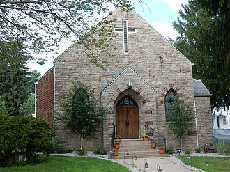 Tuscarora, Pennsylvania - St. Bertha Church in Tuscarora.