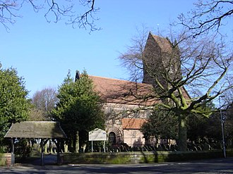 Grade II* listed buildings in Merseyside - Image: St Chad's Church, Old Hall Lane, Kirkby geograph.org.uk 122477