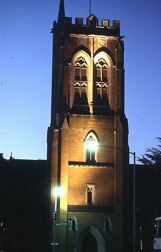 St David's Cathedral, Hobart - Image: St David's Cathedral, Hobart Wiki 0119