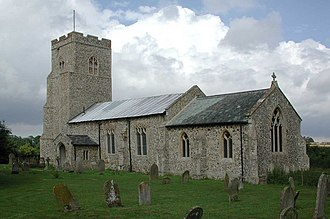 Gateley - Image: St Helen, Gateley, Norfolk geograph.org.uk 308607