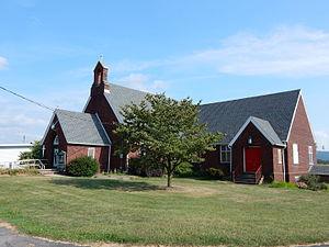 Eldred Township, Schuylkill County, Pennsylvania - Image: St James Lutheran Church, Pitman PA 02