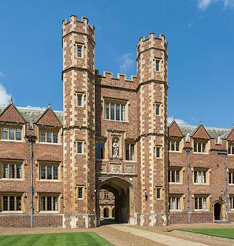 George Selwyn (bishop of Lichfield) - Selwyn's Alma Mater, St John's College, Cambridge