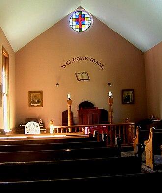 St. John's Church (Ruxton, Maryland) - Image: St Johns Ruxton MD 03