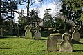 St Mary's Churchyard and The Old Rectory in the background - geograph.org.uk - 485766.jpg