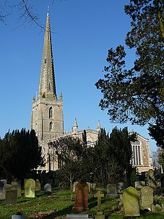 St Mary the Virgins Church, Bottesford Church in Leicestershire, England