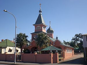 Russian Orthodox Diocese of Sydney, Australia and New Zealand - St Nicholas Cathedral, Brisbane, 2015