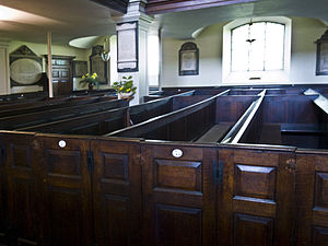 Cambridge Camden Society - Box pews of the type condemned by the society