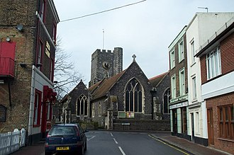 St Peter's, Kent - Image: St Peters Church, Broadstairs