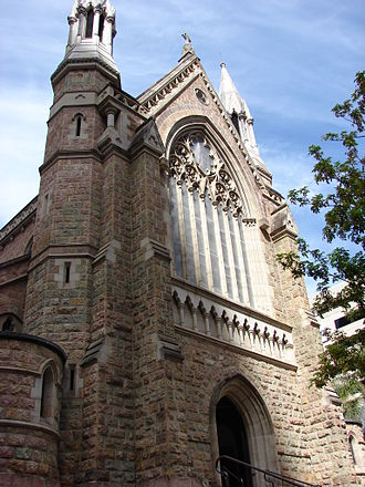 Brisbane tuff - Image: St Stephen's cathedral, Brisbane