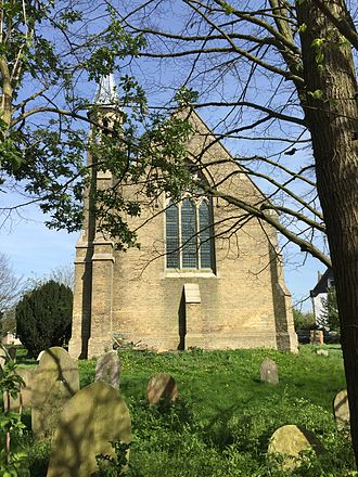 Pondersbridge - St Thomas Church, Pondersbridge, Cambridgeshire