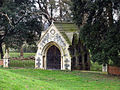 St Withburga, Holkham, Norfolk - Mausoleum - geograph.org.uk - 320395.jpg