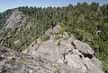 Stairs on Moro Rock with People 2013.jpg