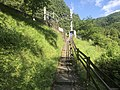 Stairs to Ninose station 20200523.jpg