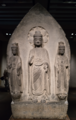 Standing Buddha Triad, China - Limestone, Eastern Wei dynasty, 6th century.tiff