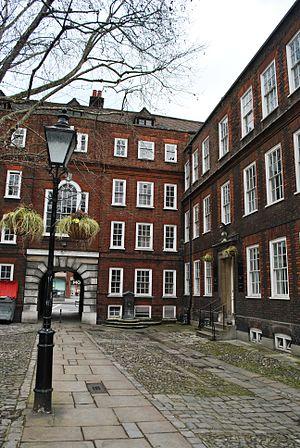 Staple Inn - Staple Inn inner courtyard