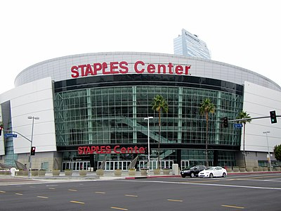 The Staples Center in Los Angeles has served as the venue for the Grammy Awards since 2000 Staples Center - panoramio.jpg