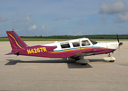 Star Marianas Air Piper PA-32-300 Cherokee Six B at Saipan.jpg