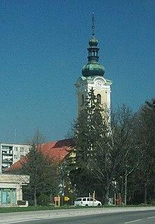 Stará Turá Town in Slovakia