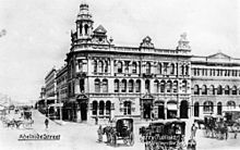 The Queensland Deposit Bank building in 1903.