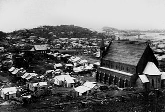 Roman Catholic Diocese of Townsville - Sacred Heart Cathedral, Townsville, taken in 1903 after Cyclone Leonta
