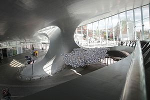 Arnhem Centraal railway station - Entrance hall of the new station