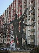Statue Johannesplatz Erfurt