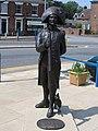 Statue of Matthew Flinders, Market Place, Donington, Lincs - geograph.org.uk - 218733.jpg