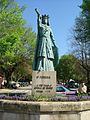 Statue of Theresa of Portugal in Ponte de Lima.jpg