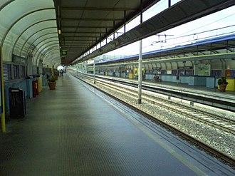 Line 1 (Naples Metro) - Line 1 platforms at Stazione Chiaiano.