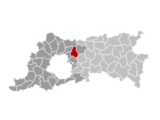 Steenokkerzeel - Image: Steenokkerzeel Locatie