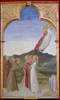 Stefano di Gionvanni dit Sassetta - Le mariage mystique de saint François d'Assise - Google Art Project.jpg