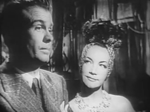 Stephen Dunne (actor) - With Carmen Miranda in Doll Face