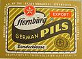 Sternburg German Pils Etikett der Sternburger Brauerei.jpg