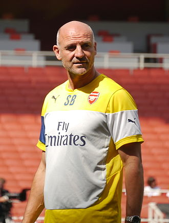 Steve Bould - Bould as Arsenal's assistant manager in 2014
