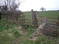 Stile near Linley Brook - geograph.org.uk - 1206140.jpg