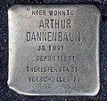 Stolperstein Alt-Moabit 86 (Moabi) Arthur Dannenbaum.jpg