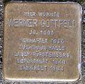 Stolperstein Arnstadt Unterm Markt 8-Werner Gottfeld.JPG