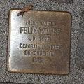 Stolperstein Bad Münstereifel Orchheimer Straße 22 Felix Wolff.jpg