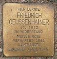 Stolperstein Edmund-Siemers-Allee 1 (Friedrich Geussenhainer) in Hamburg-Rotherbaum.JPG