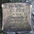 Stolperstein Essener Str 20 (Moabi) Leo Klein.jpg