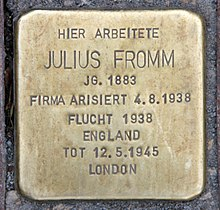 Julius Fromm Wikipedia
