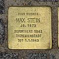 Stolperstein Günthersburgalle 43 Max Stein.jpg