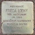 Stolperstein Giesebrechtstr 11 (Charl) Frieda Loewy.jpg