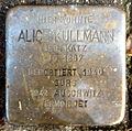 Stolperstein Karlsruhe Alice Kullmann Kriegsstr 69 (fcm).jpg